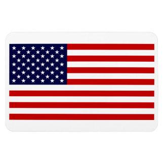 Bandera del imán de los Estados Unidos de América