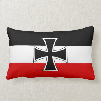 Bandera del imperio alemán cojines