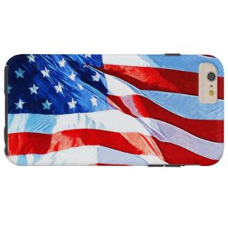Bandera del impresionismo abstracto de Estados Funda De iPhone 6 Plus Tough