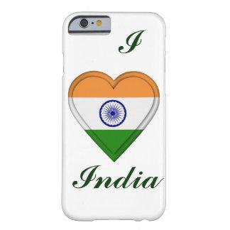 Bandera del indio de la India Funda De iPhone 6 Barely There