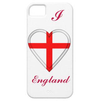 Bandera del inglés de Inglaterra iPhone 5 Carcasas