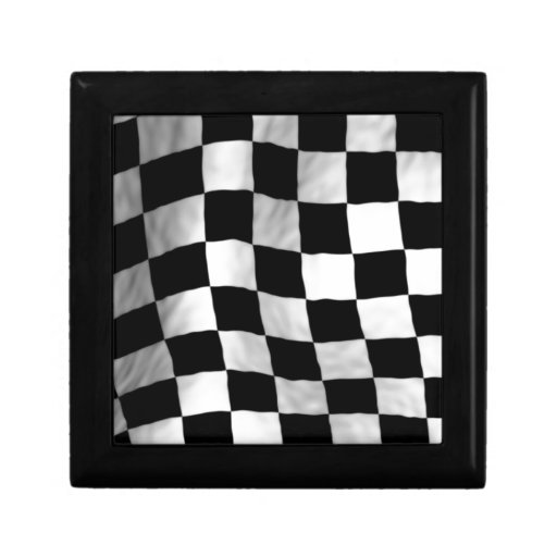Bandera del inspector cajas de regalo