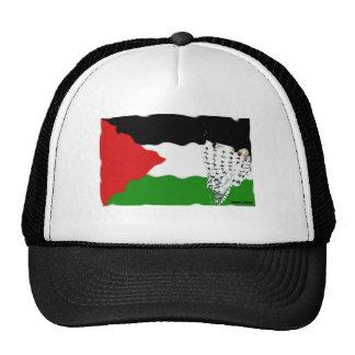 Bandera del Intifada de Palestina Gorra