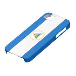 Bandera del iPhone 5 de Nicaragua iPhone 5 Carcasa
