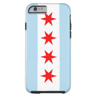 Bandera del iPhone 6 Tough™ de Chicago Funda De iPhone 6 Tough