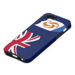 Bandera del iPhone de Anguila 5 casos iPhone 5 Case-Mate Carcasa