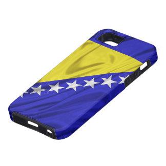 Bandera del iPhone de Bosnia y Herzegovina 5 casos iPhone 5 Cárcasas