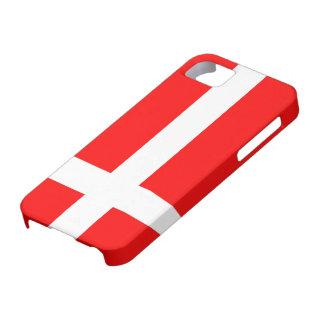 Bandera del iPhone de Dinamarca 5 casos iPhone 5 Fundas