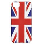 Bandera del iPhone de Gran Bretaña 5 casos