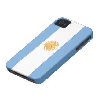 Bandera del iPhone de la Argentina 4 casos iPhone 4 Funda
