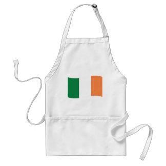 bandera del irland delantales
