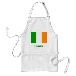 Bandera del irlandés de Carr Delantal
