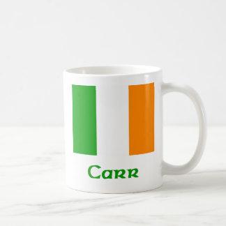 Bandera del irlandés de Carr Taza Clásica