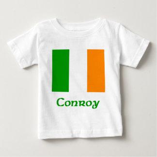 Bandera del irlandés de Conroy Tee Shirt