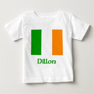 Bandera del irlandés de Dillon Playera