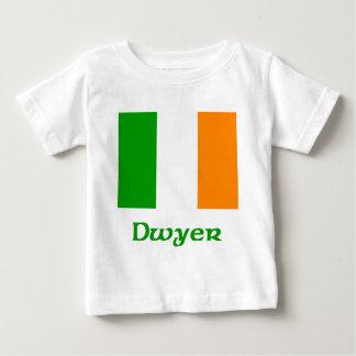 Bandera del irlandés de Dwyer Playera De Bebé