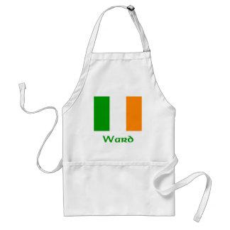 Bandera del irlandés de la sala delantal