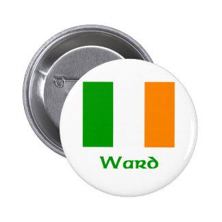 Bandera del irlandés de la sala pins