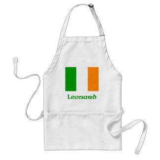 Bandera del irlandés de Leonard Delantal