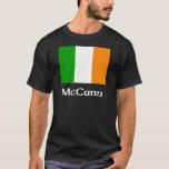 Bandera del irlandés de McCann Playera