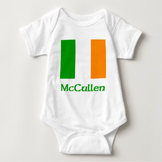 Bandera del irlandés de McCullen Body Para Bebé