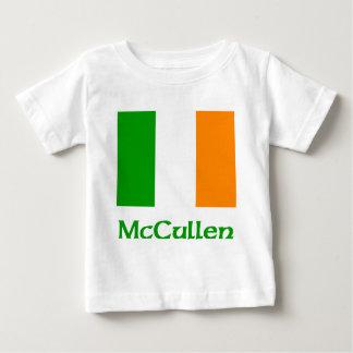 Bandera del irlandés de McCullen Playera De Bebé