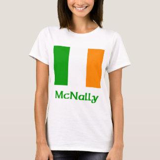 Bandera del irlandés de McNally Playera