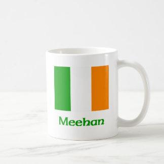 Bandera del irlandés de Meehan Taza