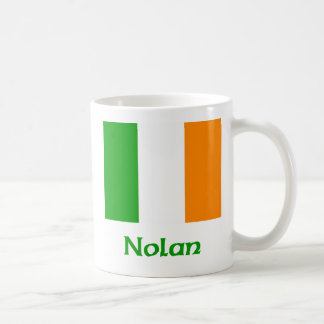 Bandera del irlandés de Nolan Taza Clásica