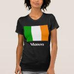 Bandera del irlandés del albañil camiseta