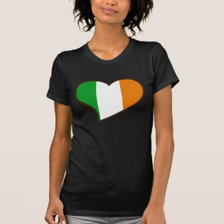 Bandera del irlandés del día de los patricks del t-shirt