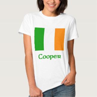 Bandera del irlandés del tonelero playera
