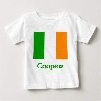 Bandera del irlandés del tonelero polera