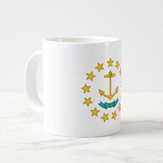Bandera del isleño de Rhode Taza Extra Grande