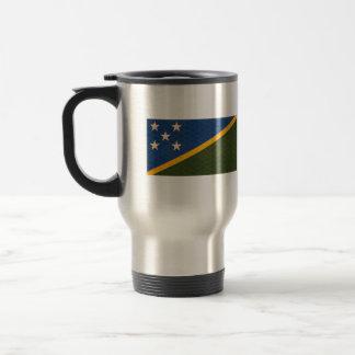 Bandera del isleño de Solomon del modelo del vinta Tazas