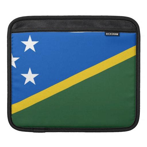 Bandera del isleño de Solomon Fundas Para iPads