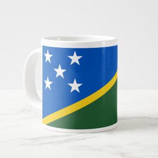 Bandera del isleño de Solomon Tazas Jumbo