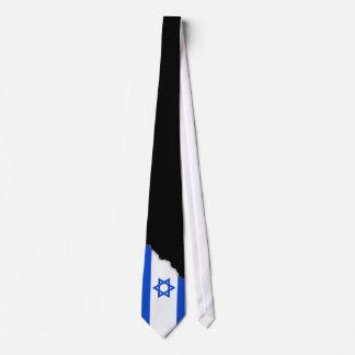 Bandera del israelí corbata
