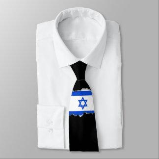 Bandera del israelí corbata personalizada