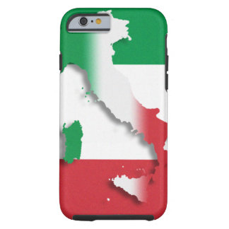 Bandera del italiano de Italia Funda Para iPhone 6 Tough