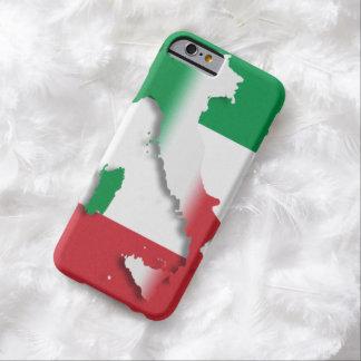 Bandera del italiano de Italia Funda Barely There iPhone 6