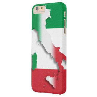 Bandera del italiano de Italia Funda Barely There iPhone 6 Plus