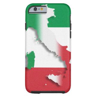 Bandera del italiano de Italia Funda Resistente iPhone 6