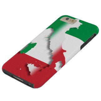 Bandera del italiano de Italia Funda Resistente iPhone 6 Plus