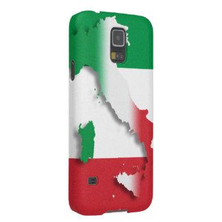 Bandera del italiano de Italia Fundas De Galaxy S5