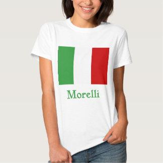 Bandera del italiano de Morelli Poleras