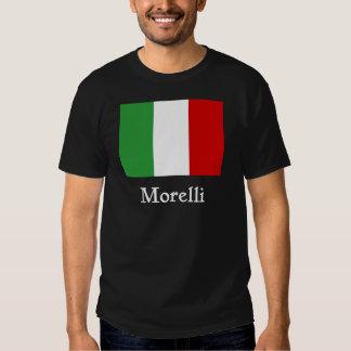 Bandera del italiano de Morelli Remeras