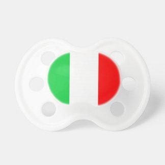 Bandera del italiano del pacificador del bebé chupetes de bebe