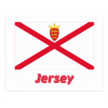 Bandera del jersey con nombre postal
