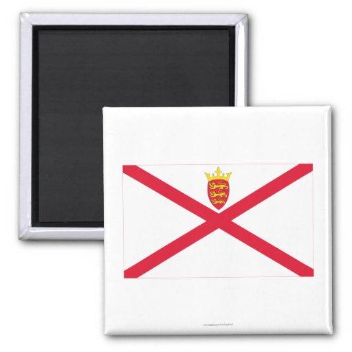 Bandera del jersey imán de nevera